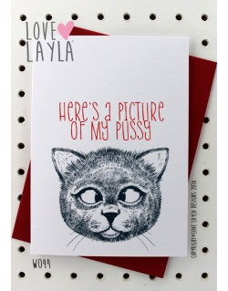 My Pussy | Love Layla Novelty Cards and Gifts
