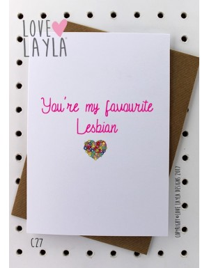 You're My Favourite Lesbian
