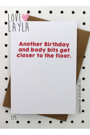 Body Bits | Love Layla Novelty Cards and Gifts