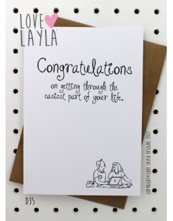 Easy Life | Love Layla Novelty Cards and Gifts