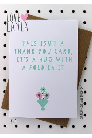 Hug Card   Love Layla Novelty Cards and Gifts