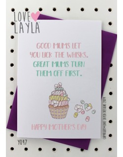 Whisks Mum | Love Layla Novelty Cards and Gifts