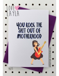 Rocking Motherhood | Love Layla Novelty Cards and Gifts