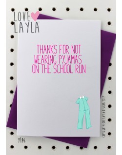 Pyjamas on the School Run | Love Layla Australia