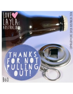 Thanks Dad Bottle | Love Layla Australia