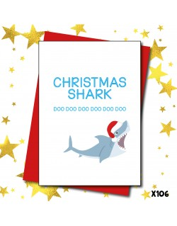 Christmas Shark | Love Layla Novelty Cards and Gifts