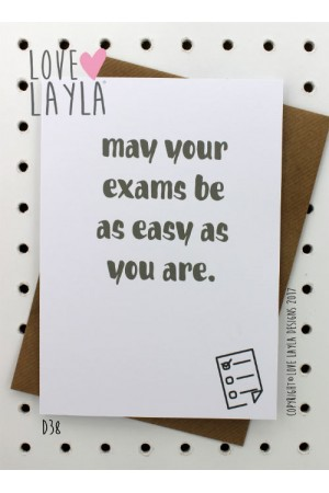 Be easy | Love Layla Novelty Cards and Gifts
